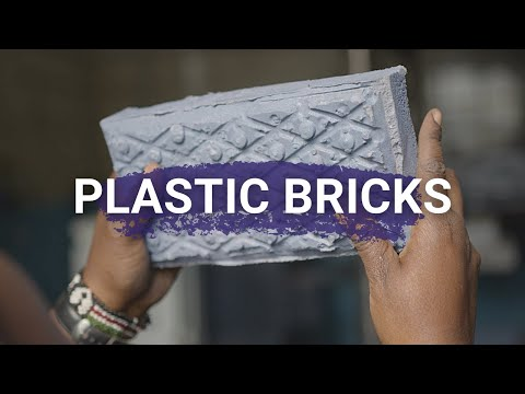 These Plastic Bricks Are Much Stronger Than Concrete