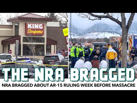 NRA Bragged About AR-15 Ruling Week Before Boulder Massacre With AR-15