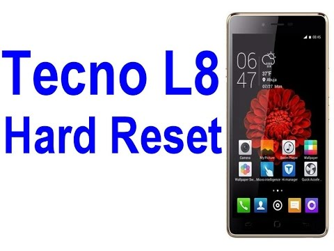 Tecno L8 Hard Reset - mobile fix - sososhare com