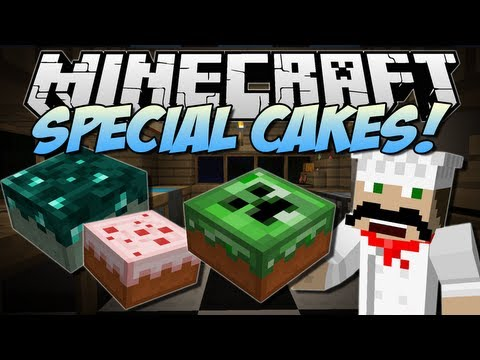 Minecraft | SPECIAL CAKES! (The Cake Is A LIE!) | Mod Showcase [1.6.4]