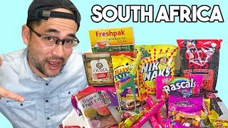Japanese try South African snacks & treats for the first time!