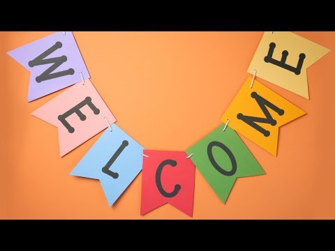 DIY Welcome Banner - Ellison Education