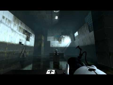 Прохождение Portal 2. Глава 2: Холодный старт