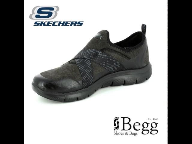 gran descuento venta último descuento lindo baratas Skechers Bright Eyed 12619 BBK Black trainers