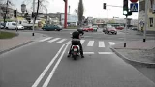 Суровый байкер