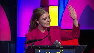 Elsie Fisher wins Breakthrough Actor at the Gotham Awards 2018
