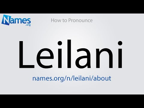 46++ Leilani name meaning pronunciation ideas in 2021