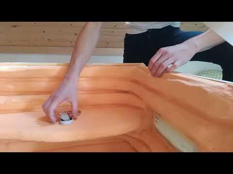 Erste Versuche mit Epoxidharz im Terrarium 🎮 Bartagame #007