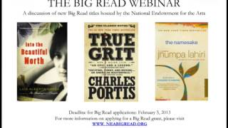 The Big Read: Discussion of Three New Books in the Catalog