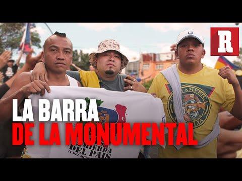 """""""La barra más emblemática de México: LA MONUMENTAL"""" Barra: La Monumental • Club: América • País: México"""
