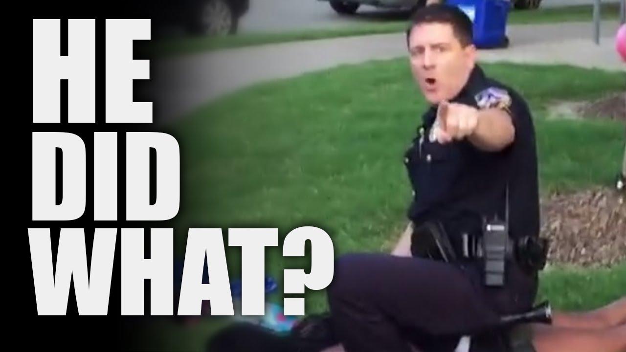 Cop Who Freaked At Black Teens Had A Disturbing Past thumbnail