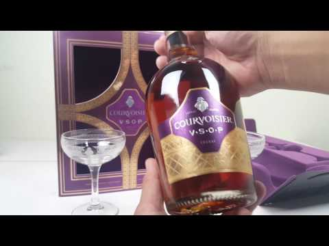 Courvoisier VSOP Cognac Box set Review.