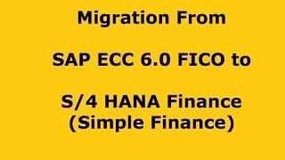 SAP Simple Finance (S/4 HANA Finance) - Basics Part 2