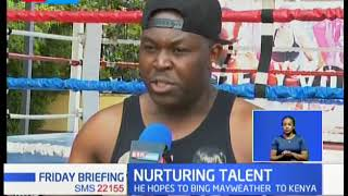 Kenyan-born American Boxer Capon back in Nairobi to give back to the society