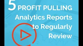5 Profit Pulling Analytics Reports to Review Regularly