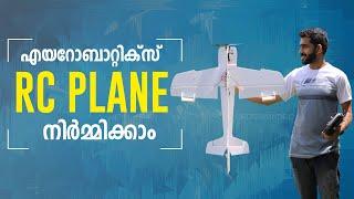 Aerobatics RC Plane Build Video Malayalam   Simple DIY RC Plane  