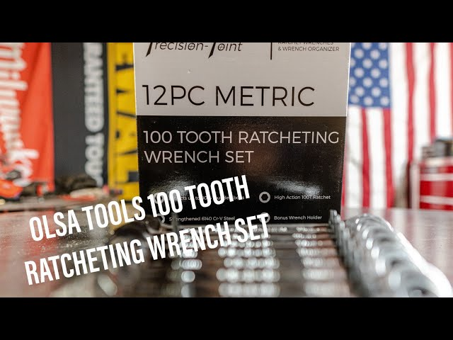Youtube Video for 12 Pc Ratcheting Wrench Set - 100 Teeth Ratchet Combination Wrenches by Redemption Garage
