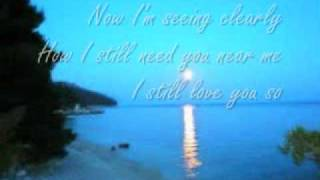 if ever your in my arms again