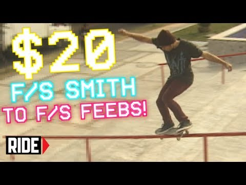 F/S SMITH TO F/S FEEBS! Player #33 Omar Parraga - Shredit Cards