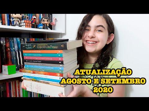TERMINEI O SENHOR DOS ANÉIS - UPDATE  DE AGOSTO SETEMBRO 2020