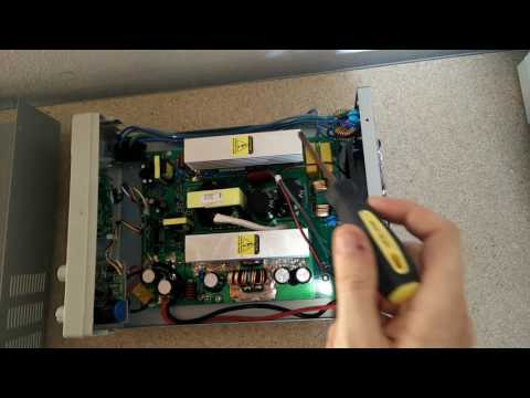 BitBastelei #202 - McPower LBN-3020 (30V,20A) Netzteil