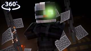 360° Five Nights At Freddy's - ENNARD VISION - Minecraft 360° Video