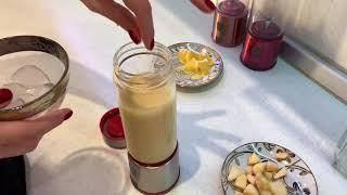 Смузи банан и апельсин