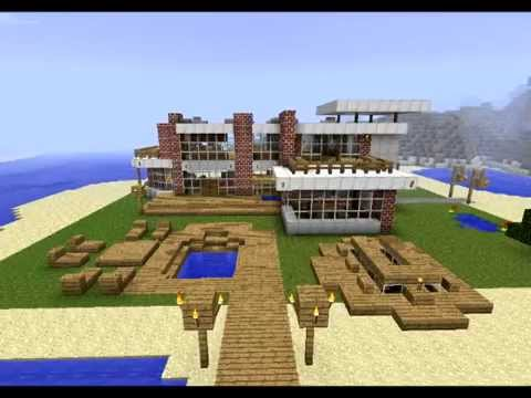 Modern Beach House Design (download)