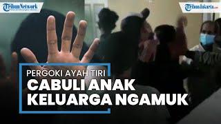 Kronologi Penggerebekan Ayah Tiri Cabuli Anak di Ciputat, Pelaku Sempat Dikeroyok Massa