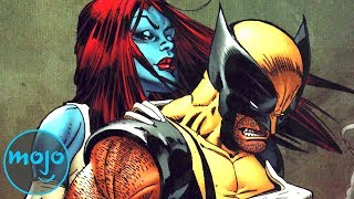 Top 10 Superheroes Who Hooked Up With Supervillains
