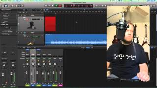 Logic Pro X   Input Processing Recordings With Aux Tracks