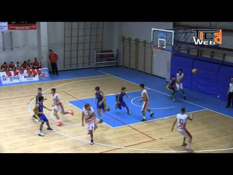 Preview video Canestri Senza Reti 2014 - Stella Rossa Belgrado vs Brescia Roncadelle