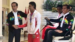Jokowi Ungkapkan Hal yang Mengganjal Hatinya saat Bertemu Zohri di Istana Bogor