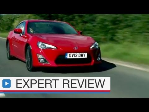 Toyota GT86 coupe expert car review