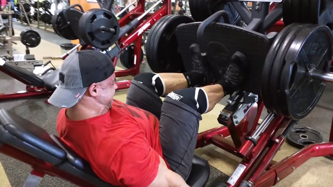 The Leg Press for Quad Sweep