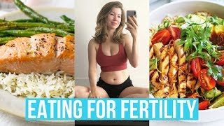 What I Eat In A Day for Fertility 🍃 Anna Victoria