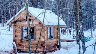 Pływanie w styczniu | Zamknięcie w warsztacie | Ścinanie drzew do budowy domku z bali
