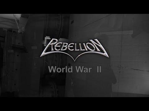 REBELLION - World War II (Lyric Video)