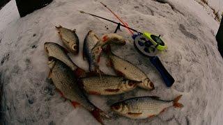 Река рыбалка зимняя