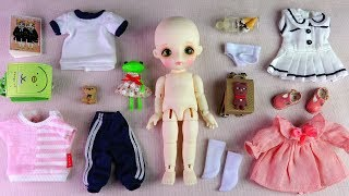 ★리나슈슈 베이비 피요 개봉★LINA Chouchou Baby Piyo Unboxing/Ball Jointed Doll/구체관절인형
