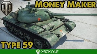 WoT Console - TYPE 59 MAKING CASH (Xbox/PS4)
