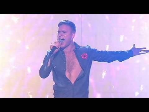 The X Factor 2009 - Olly Murs: Come Together - Live Show 4 (itv.com/xfactor)