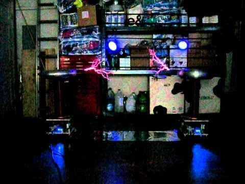 Metallica ride the lightning on musical tesla coils