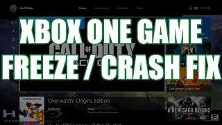 My Xbox One Game Won't Start or Freezes During Gameplay | Xbox One Ambassador Tutorial #1