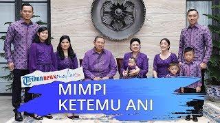 Pancasakti Maharajasa Yudhoyono dan Ibunya Baca Al fatihah Setelah Bermimpi Bertemu Ani Yudhoyono