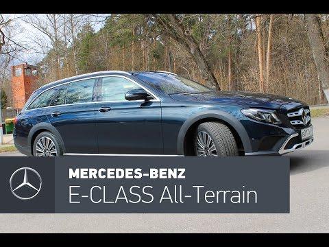 Mercedes Benz E Class All Terrain Универсал класса E - тест-драйв 3