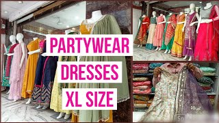 Partywear Designer Dresses With Price, Long Frocks XL ,floor Length Dresses,RK Brothers