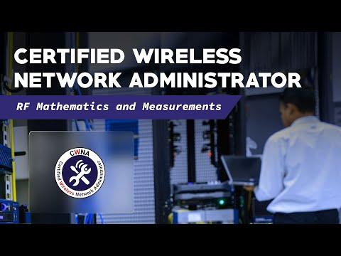 Certified Wireless Network Administrator (CWNA) - RF Mathematics ...