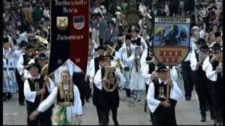 Aufmarsch Großscheuern beim Oktoberfest 2010 in München