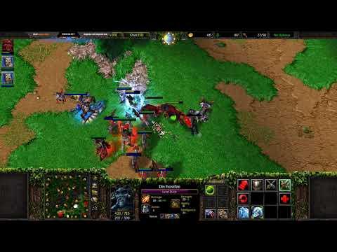 Dread's stream | Warcraft III - FFA с Grubby, Solo и другими | 07.10.2018